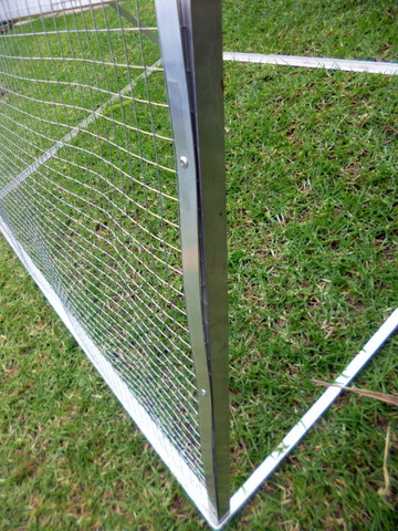 Wire Mesh Attachment Detail