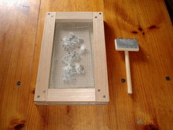Home-made Cotton Gin
